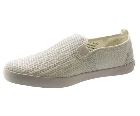 lyle cally mesh slip on white mens shoes treds