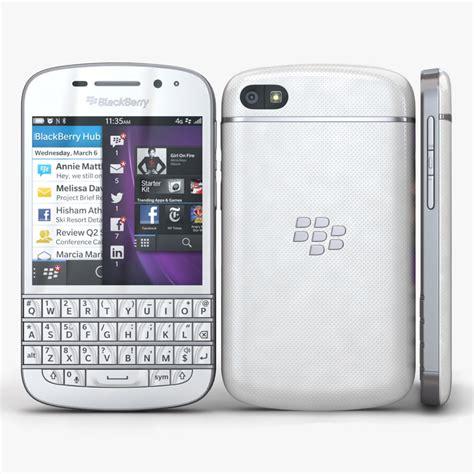 Blackberry Bb Q10 Belakang Big 3d blackberry q10 white
