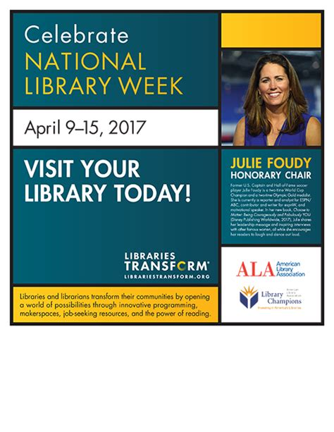 celebrate national library week conferences