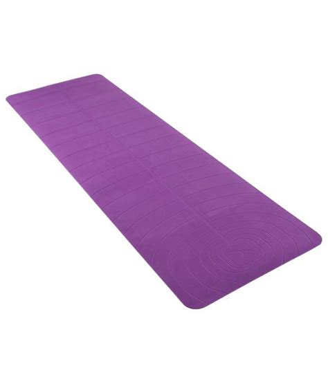 The Purple Mat by Domyos Purple Mat Buy At Best Price On Snapdeal