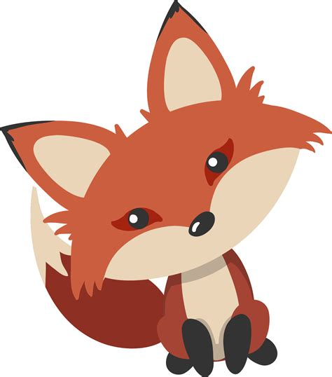 fox clipart fox png transparent free images png only