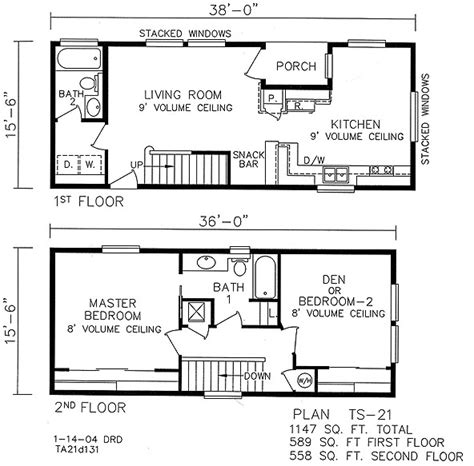 2 story cabin floor plans awesome 2 story home plans 6 simple 2 story house plans