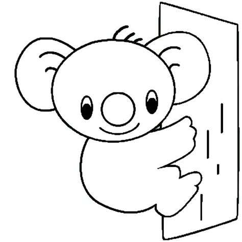 cute koala coloring pages free coloring pages of koala