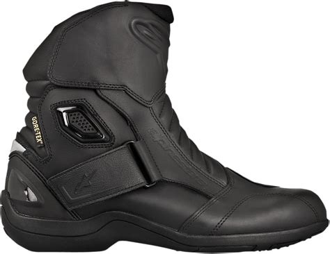 mens black motorcycle riding boots alpinestars mens leather black new land motorcycle riding