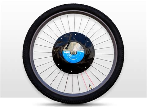 designboom wheel urbanx electric wheel converts any bicycle into an 350 w ebike