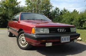 4k 1986 audi 5000cs avant turbo quattro 5 speed bring a