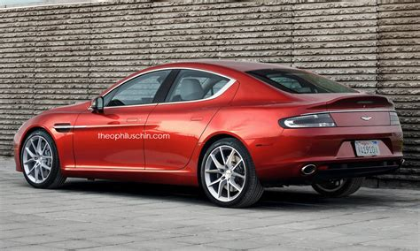 Small Aston Martin by Small Aston Martin Sedan Rendered Looks Like A Smaller
