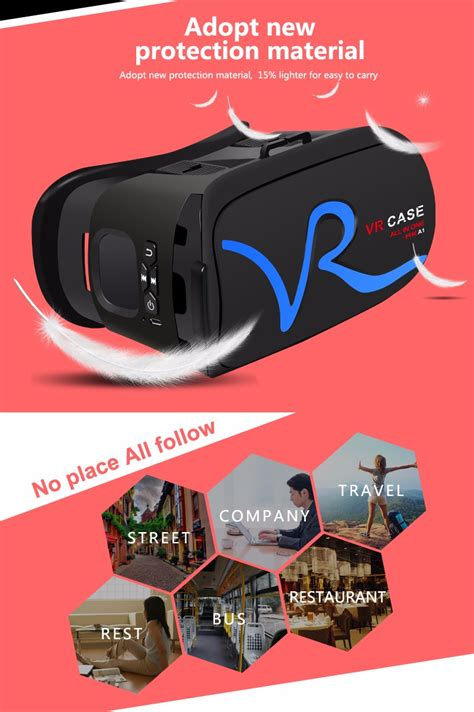 Vr Box Glass Reality 3d Version Rk 5 new version vr box 2 0 upgraded vr rk a1