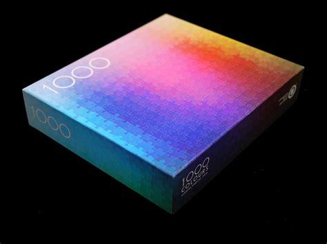 color spectrum puzzle puzzle z palety cmyk 1 000 colors puzzle czytajniepytaj