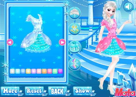 design games at mafa download frozen party dress design game
