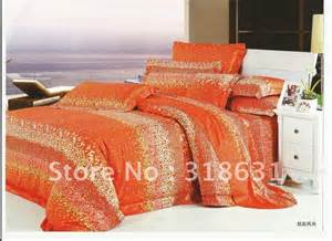 Sunflower Duvet Cover Set Shop Popular Bright Orange Comforter From China Aliexpress