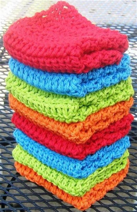 crochet washcloth instructions 56 easy crochet dishcloth diy to make
