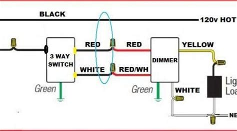 three way wiring diagram with dimmer efcaviation