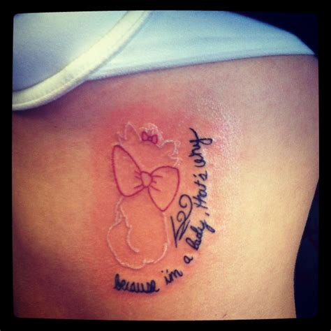 do tattoos peel disneyink my disney aristocats done by skin