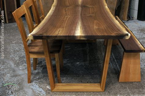 walnut dining table live edge slab dining tables walnut slabs and tops