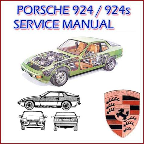car repair manuals online pdf 1988 porsche 924 security system porsche 924 924s service repair manual download manuals