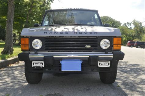 automobile air conditioning repair 1995 land rover range rover spare parts catalogs 1995 land rover range rover classic lwb 25th anniversary 1 of 250 ever made 4 2l
