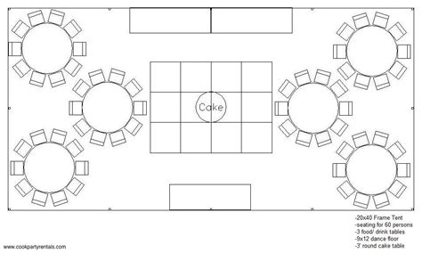 layout of wedding party seating layouts cook party rentals seating layouts
