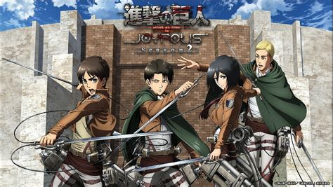 theme line attack on titan attack on titan collaboration returns to tokyo joypolis