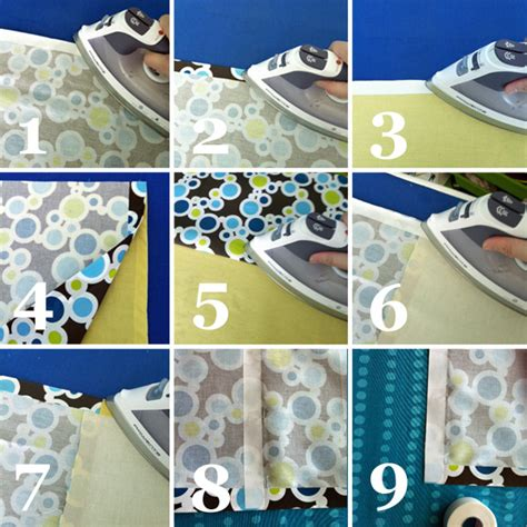 how to use hem tape on curtains no sew shower curtain curtains tutorial school of decorating by jackie hernandez
