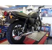 WK RT 125 Motorcycle Classic Bonneville Cc Retro Motor