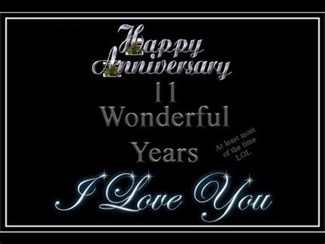 11 Years Wedding Anniversary Quotes For by Jd And 11 Year Wedding Anniversary