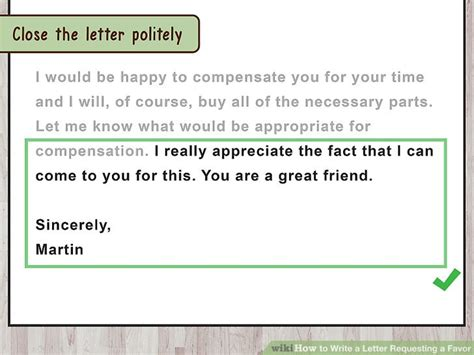 Inquiry Letter Polite the best way to write a letter requesting a favor with