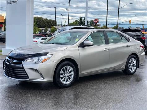 2015 Toyota Camry Le Le Htd Seats New Tires At 16944 For