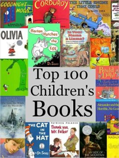 best picture books for children best books for top 100 children s books by sallie