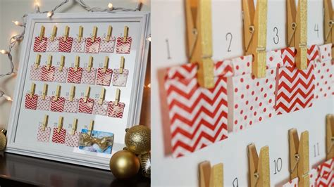 diy countdown calendar advent calendar