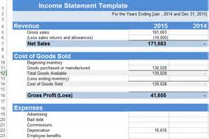Income Statement Excel Template by Get Salary Slip Format In Excel Microsoft Excel Templates