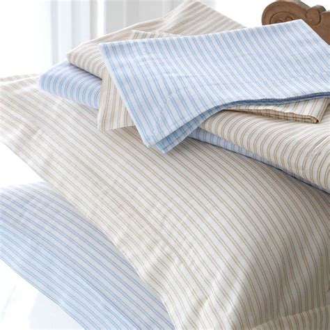pinstripe bedding classic blue and white pinstripe bedding http www