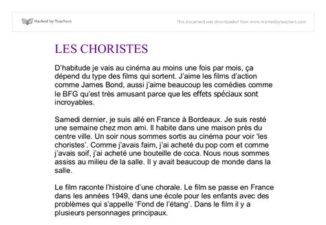 Bonesetters Essay by Les Choristes Essay