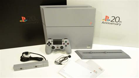 New Stick Ps4 Anniversary 20th Original unboxing playstation 4 20th anniversary edition console