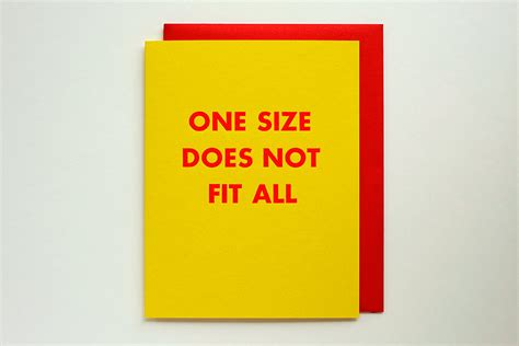 one size does not fit all acknowledging and addressing whatã s wrong with american education books one size does not fit all letterpress greeting card