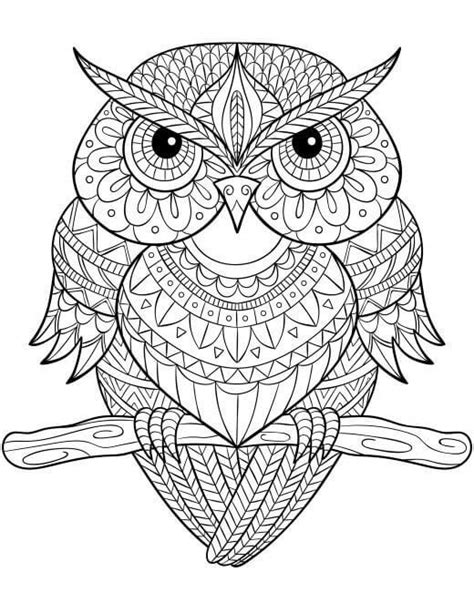 coloring pages mandala owl owl mandala coloring page coloring pages ideas reviews
