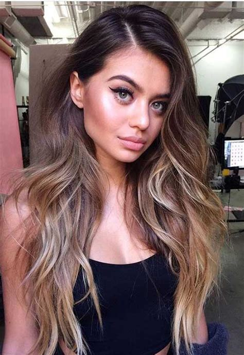 hairstyles and colors for long length hair great ombre colors for long hair long hairstyles 2017