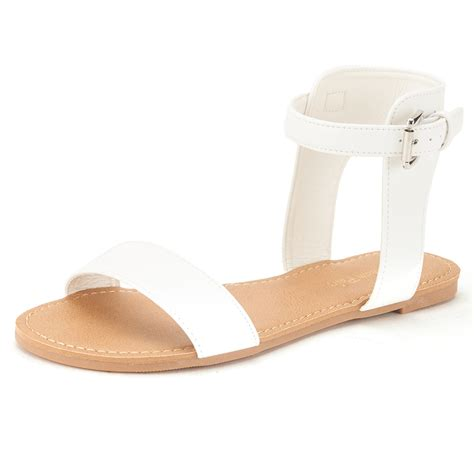 pretty flat sandals for summer s open toes one band ankle