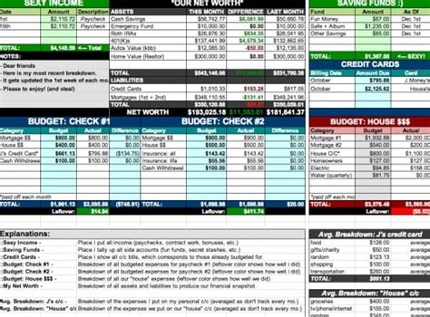 spreadsheet free debt and budget spreadsheet married with personal
