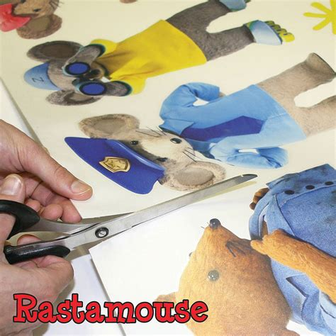 Character Wall Stickers rastamouse character pack wall sticker by the binary box