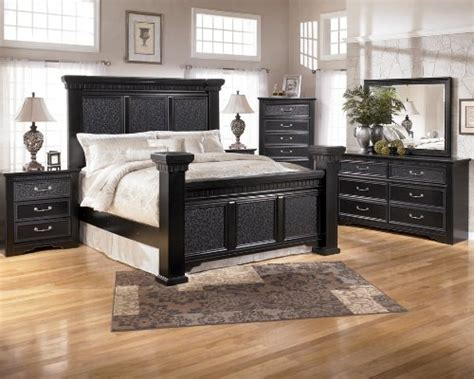 cavallino king bedroom set ashley black bedroom furniture bedroom furniture