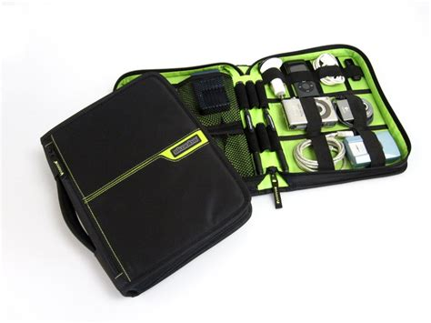electronic wire organizer travel and technology gear and gadgets adapters wifi