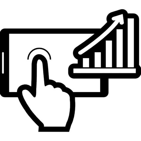 Mobile stock data Icons | Free Download