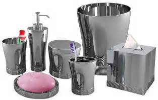 Bathroom Sets Nu Steel Bathroom Accessories Set 7pc Free Shipping