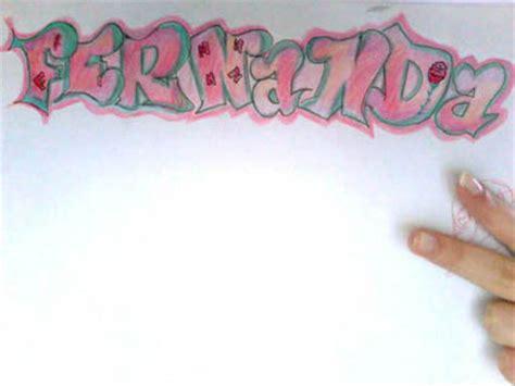 imagenes que digan fernanda graffiti fernanda no se como me habra qedado ahi
