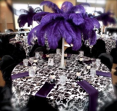 Black And Purple Table Decorations by 17 Best Images About Family Reunion Decor On