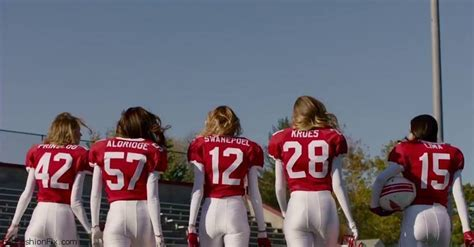 Victoria's Secret Angels play football in 2015 Super Bowl