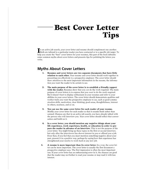 best cover letter books best cover letter for it cover letter exle