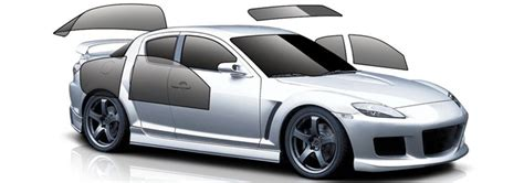 window tinting full car small coupe  midsize sedan