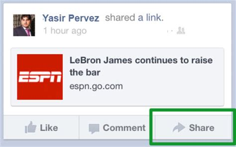 facebook questions officially launches facebook officially launches share button for the mobile